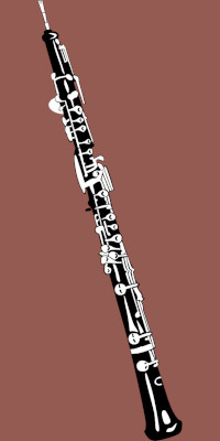 drawing-of-oboe