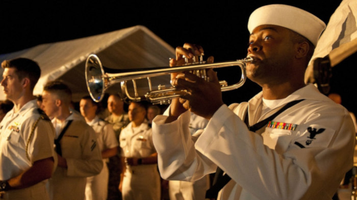 navy-sailor-playing-trumpet-in-band